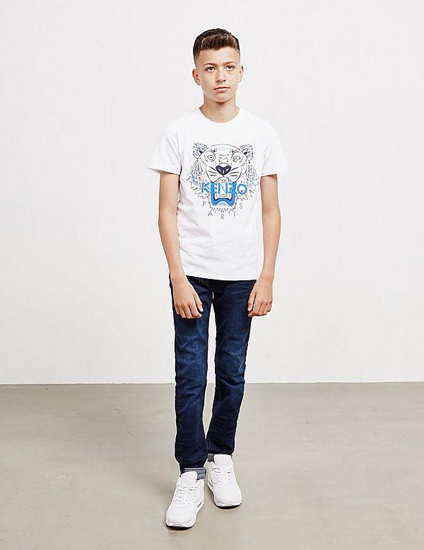 KENZO Tiger Logo Short Sleeve T-Shirt