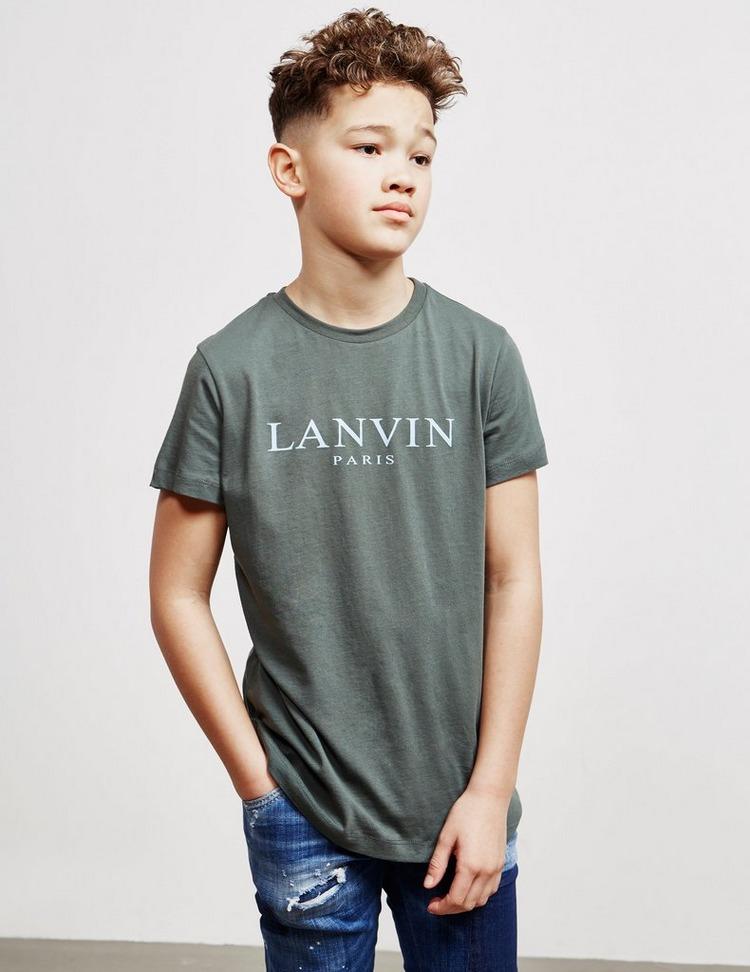 Lanvin Text Short Sleeve T-Shirt