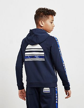 Little Marc Jacobs Logo Full Zip Hoodie