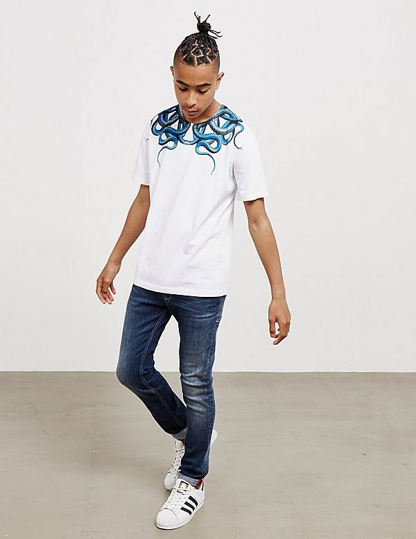 Marcelo Burlon Snake Short Sleeve T-Shirt