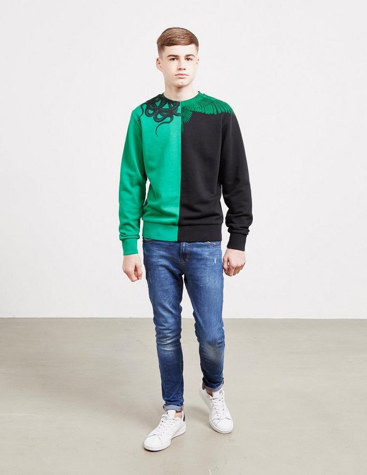 Marcelo Burlon Split Sweatshirt