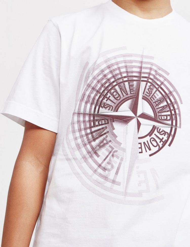 Stone Island Junior Large Pin Short Sleeve T-Shirt