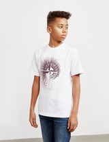Stone Island Junior Large Pin Short Sleeve T-Shirt