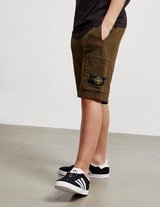 Stone Island Junior Patch Shorts