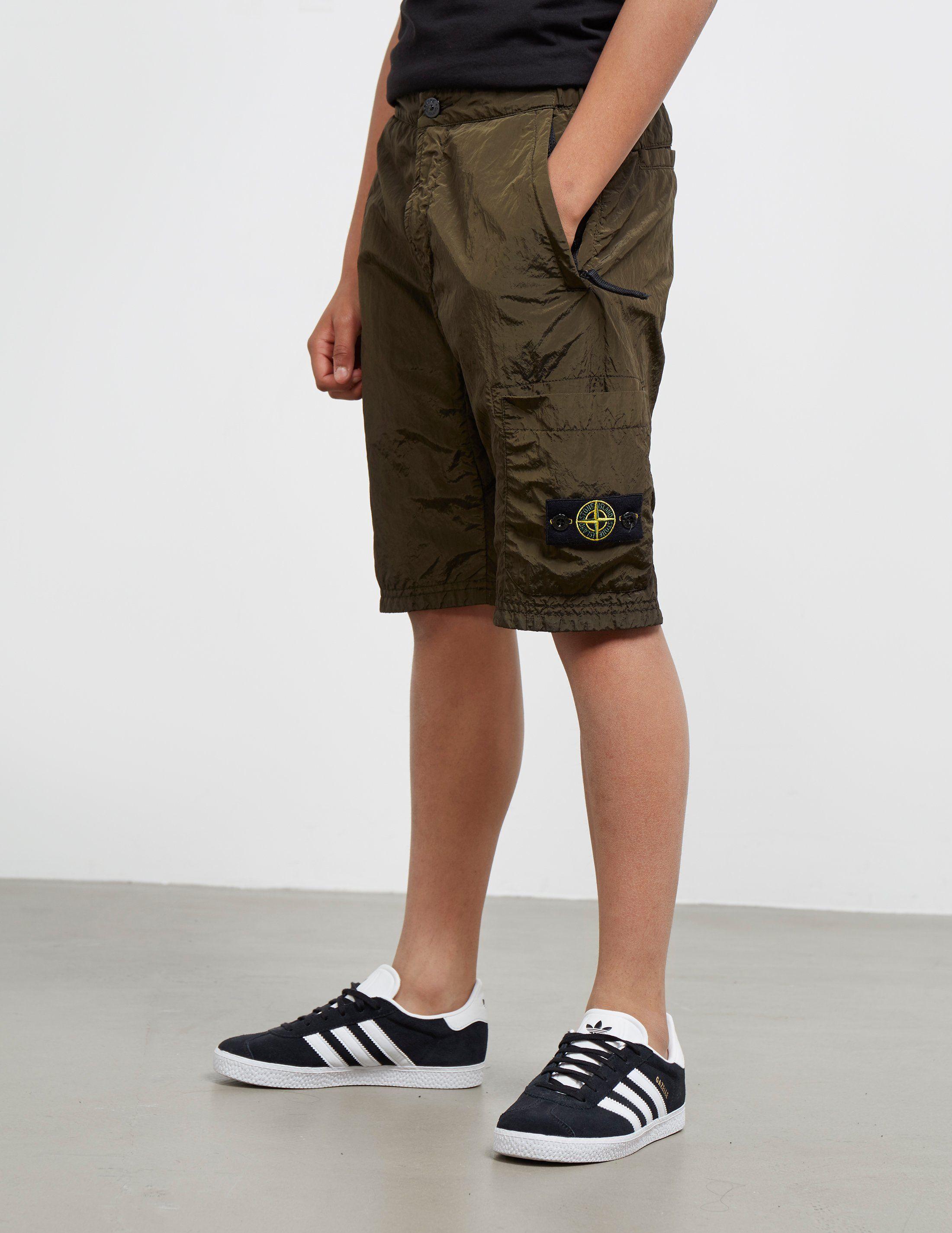 Stone Island Kids Nylon Metal Shorts