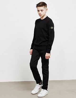 Stone Island Crew Neck Knitted Jumper