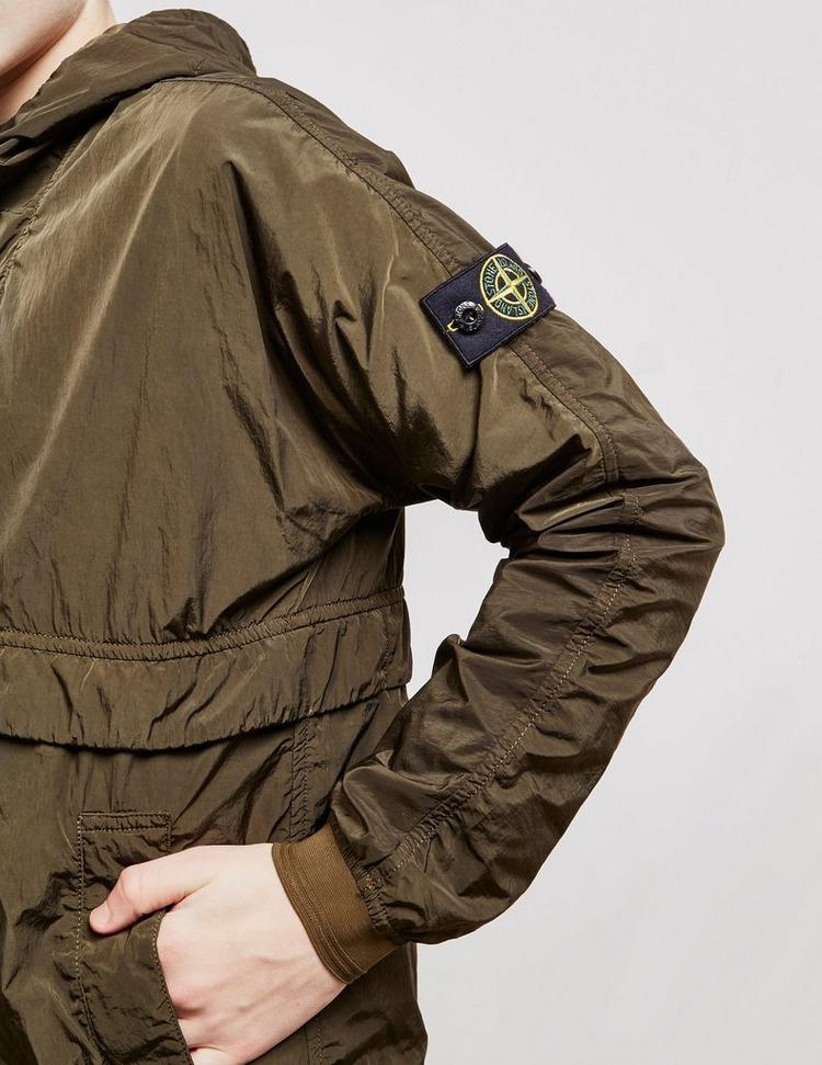 Stone Island Crinkle Hooded Jacket