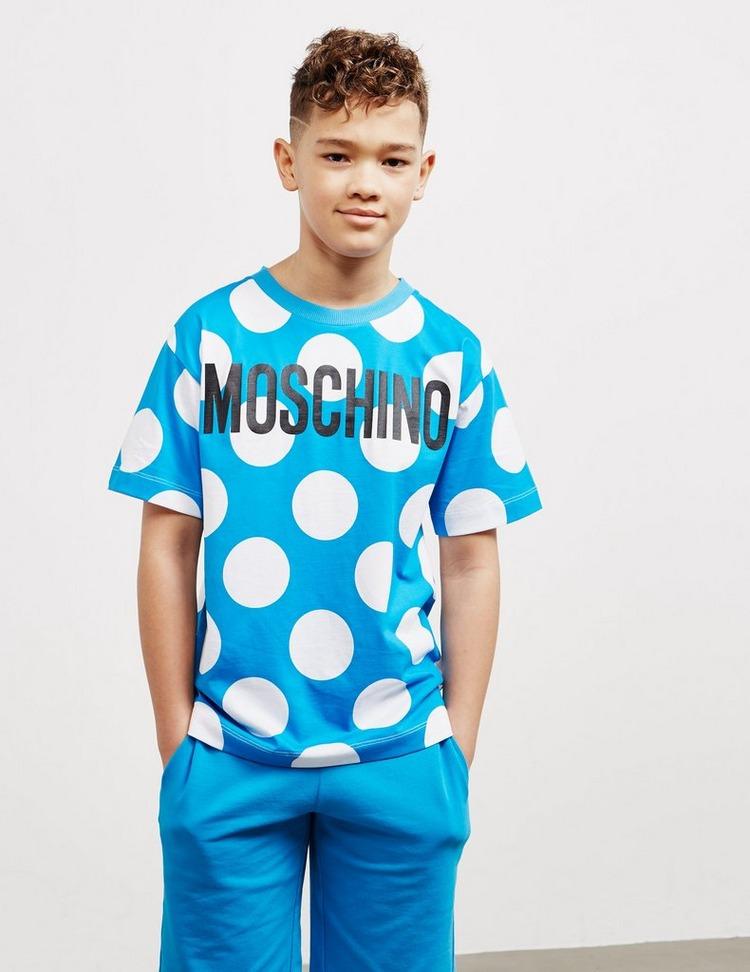 Moschino Polka Dot Short Sleeve T-Shirt