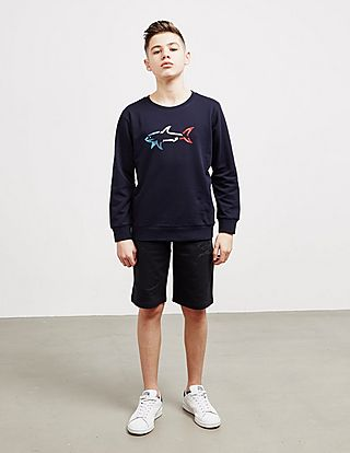 Paul and Shark Logo Shorts - Online Exclusive