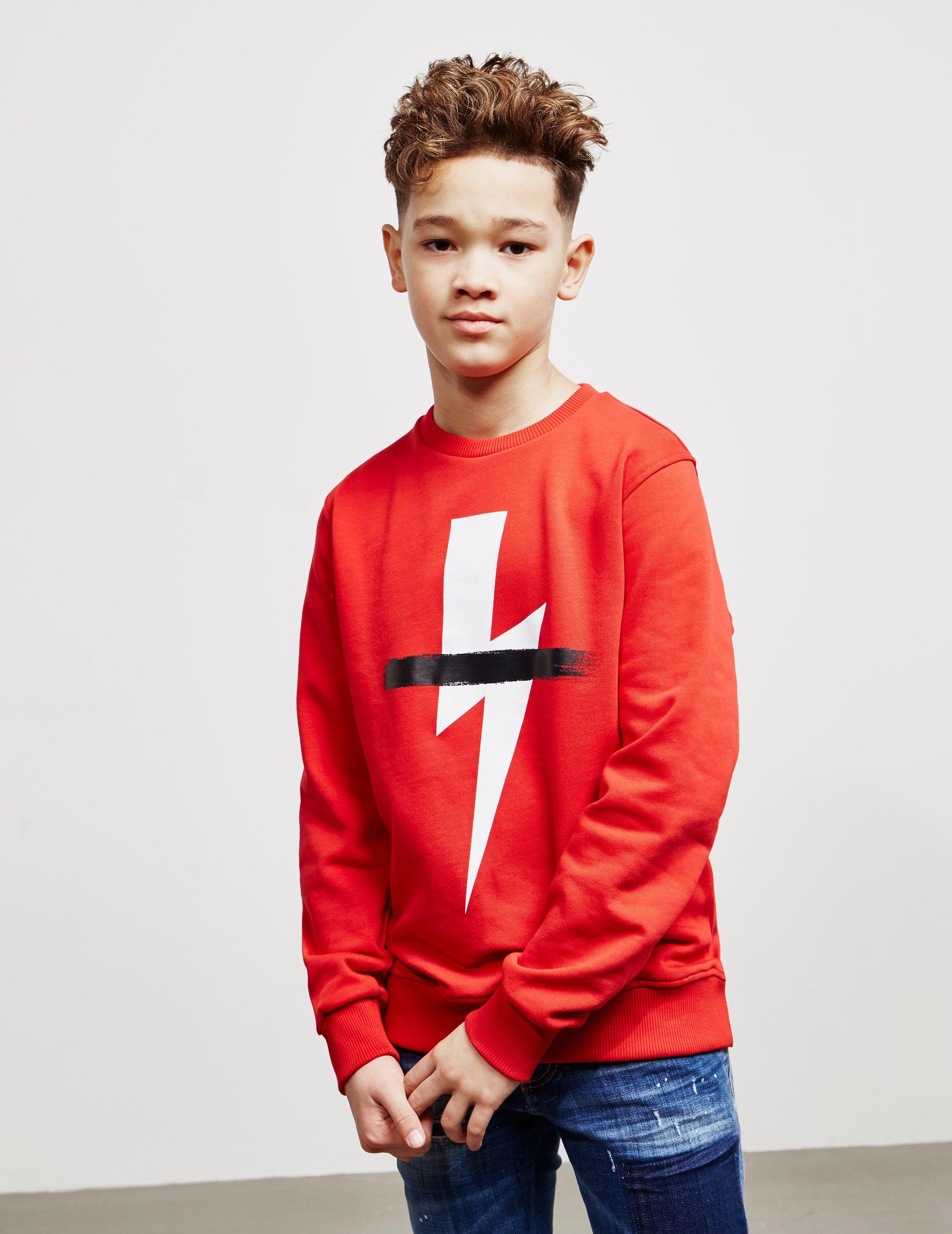 Neil Barrett Bolt Strike Sweatshirt