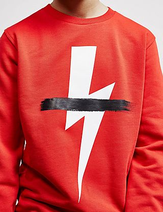 Neil Barrett Bolt Strike Sweatshirt