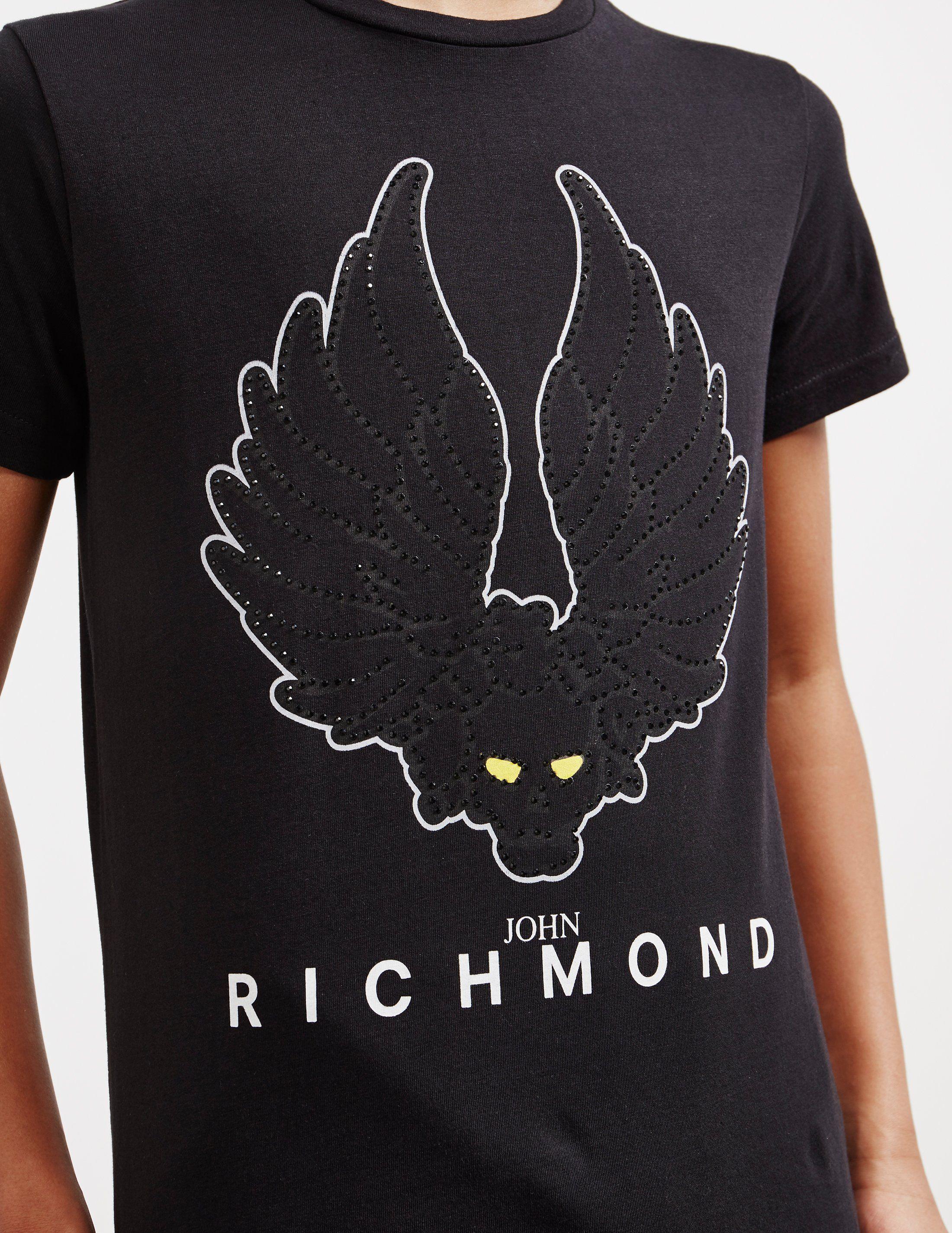 John Richmond Document Short Sleeve T-Shirt