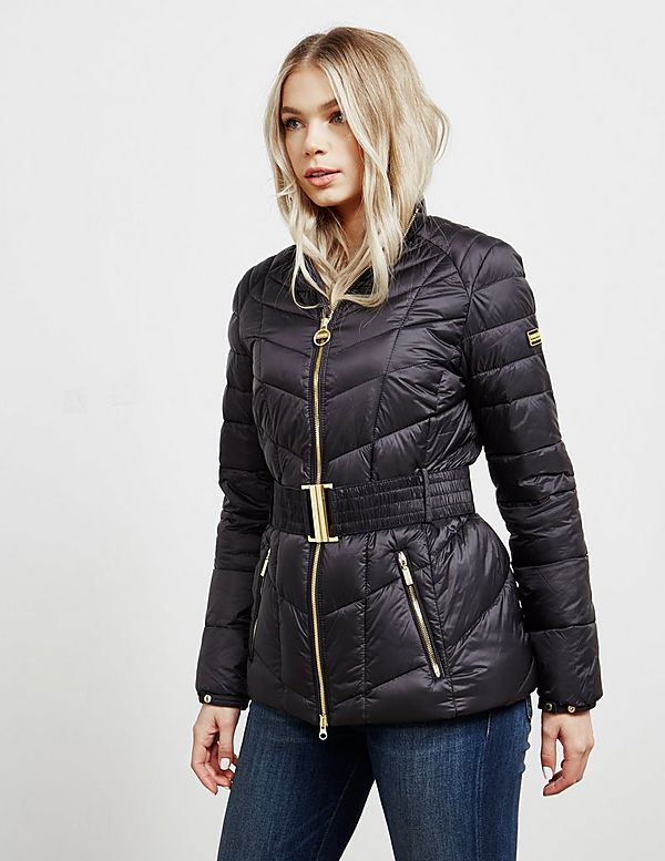 Barbour International Morzine Belted Jacket