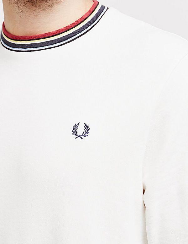 Fred Perry Striped Trim Sweatshirt