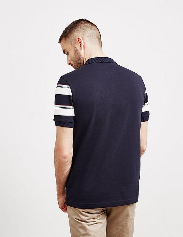 Fred Perry Stripe Sleeve Short Sleeve Polo Shirt