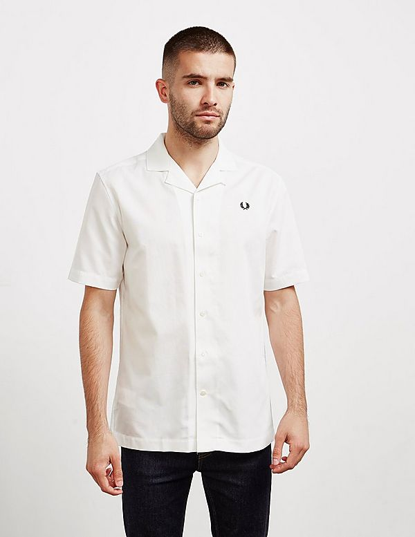 Fred Perry Revere Collar Short Sleeve Shirt
