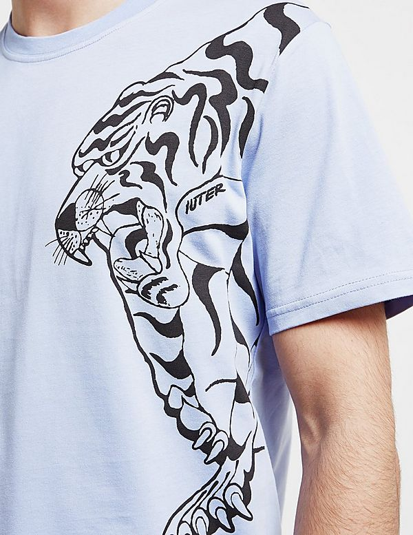 IUTER Nepal Double Tiger Short Sleeve T-Shirt