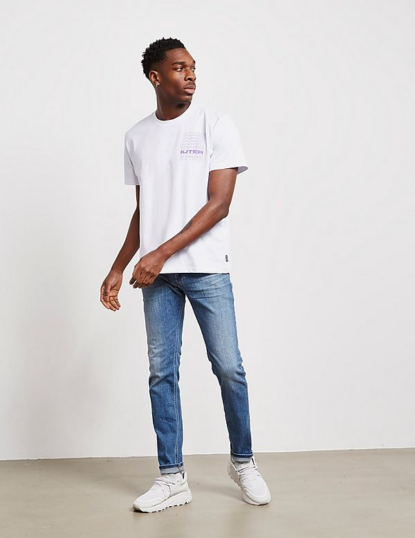 IUTER Spine Rose Short Sleeve T-Shirt