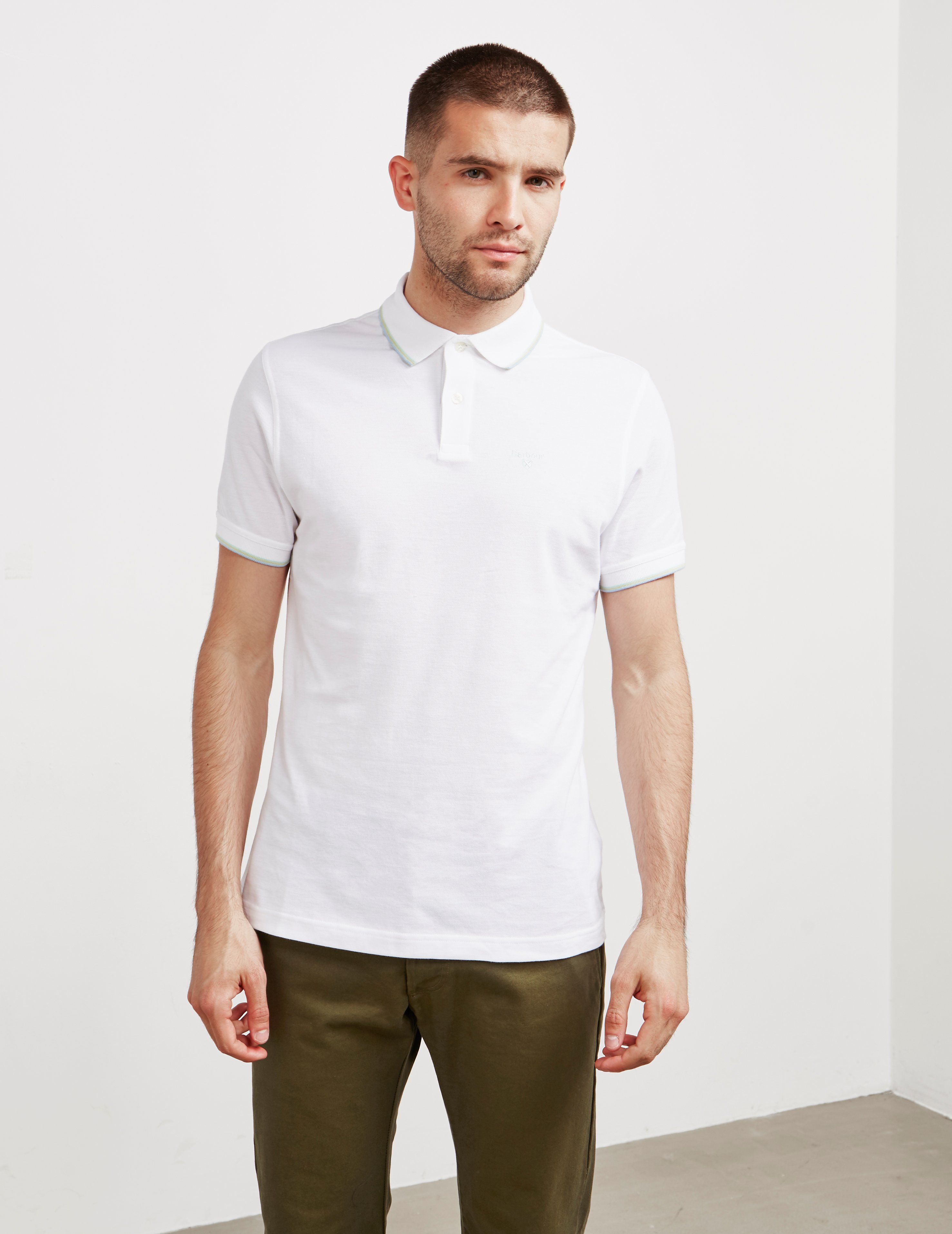Barbour Aubrey Tipped Short Sleeve Polo Shirt