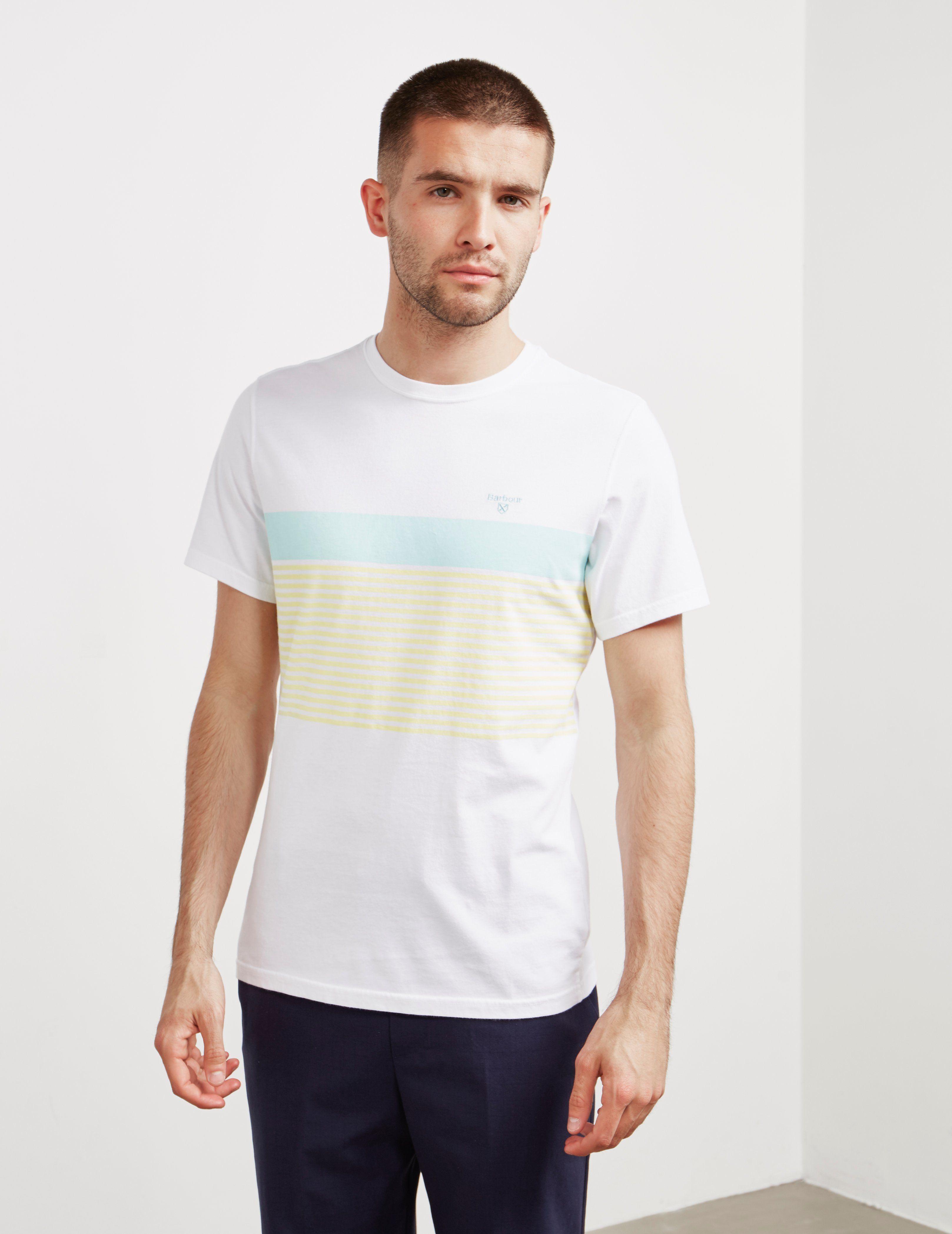 Barbour Braeside Stripe Short Sleeve T-Shirt