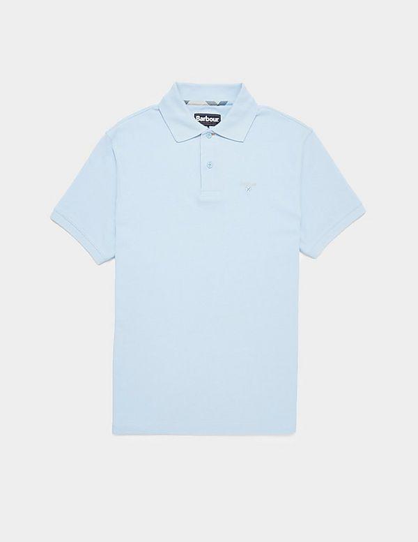 Barbour Tartan Trim Short Sleeve Polo Shirt