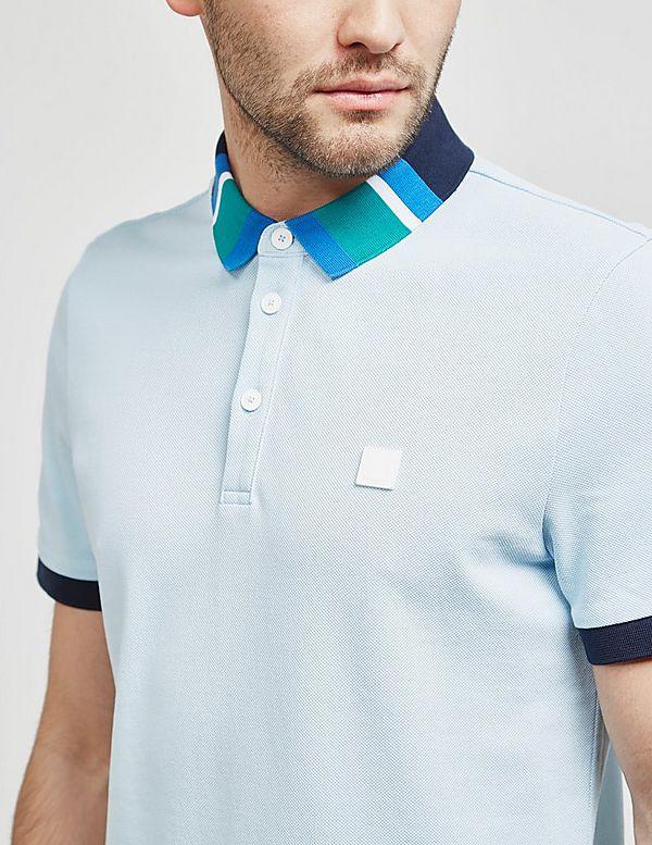 BOSS Polarized Collar Short Sleeve Polo Shirt