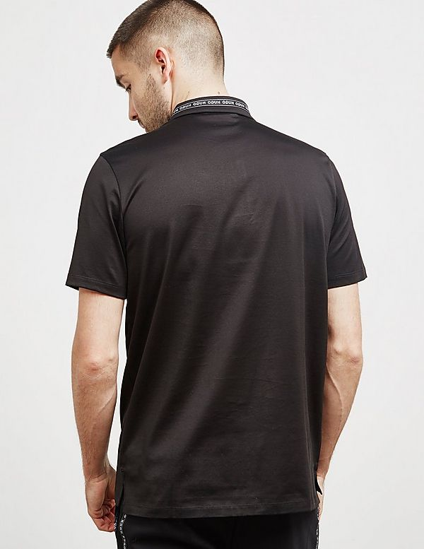 HUGO Divorno Tape Short Sleeve Polo Shirt