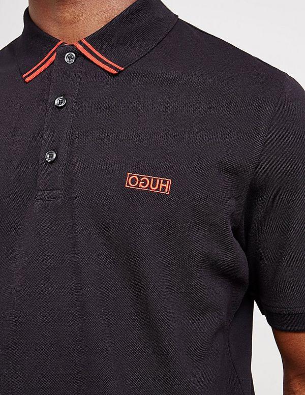 HUGO Dyler Tip Short Sleeve Polo Shirt