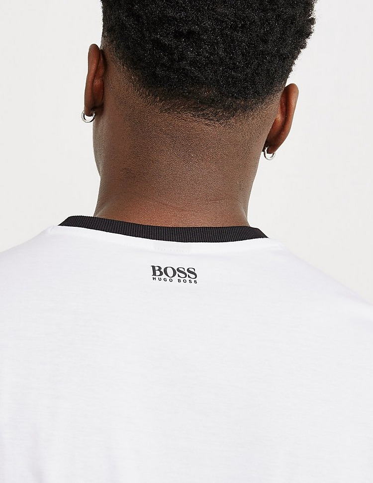 BOSS Curved Logo Short Sleeve T-Shirt