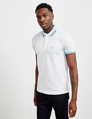 BOSS Paddy Tipped Short Sleeve Polo Shirt