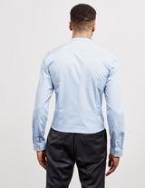HUGO Enrique Long Sleeve Grandad Shirt