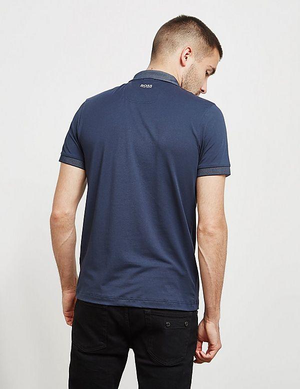 BOSS Paule Tech Short Sleeve Polo Shirt