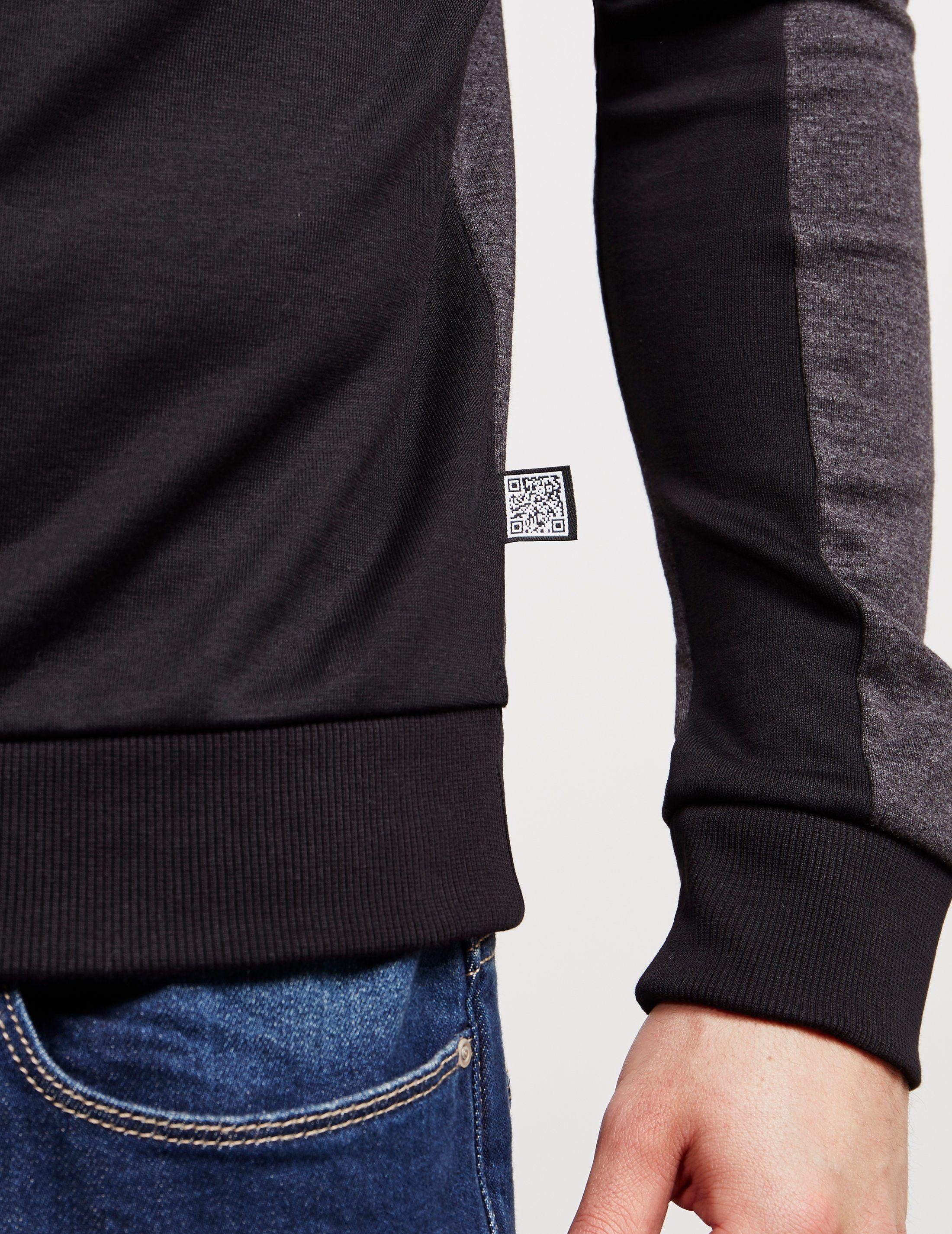 BOSS Salbo Curved Logo Sweatshirt