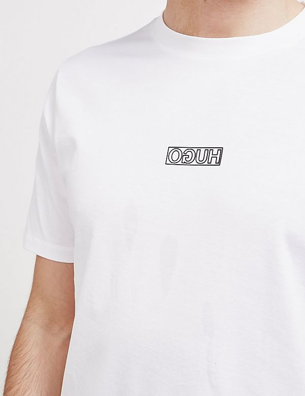HUGO Durn Band Short Sleeve T-Shirt