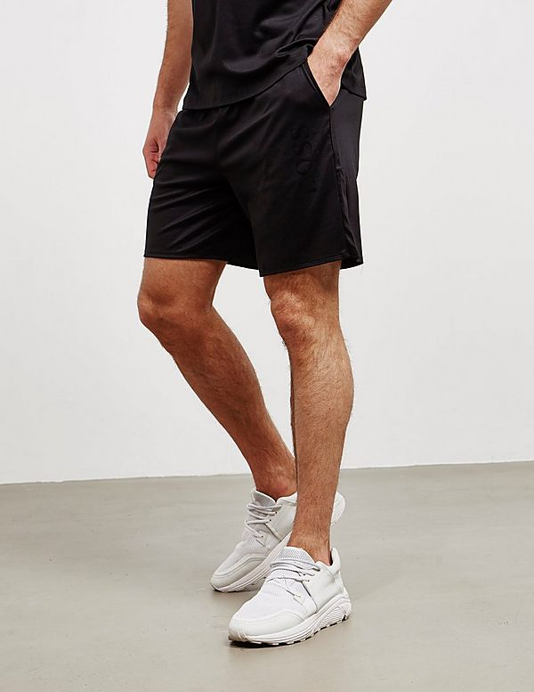 BOSS Sleek Logo Fleece Shorts