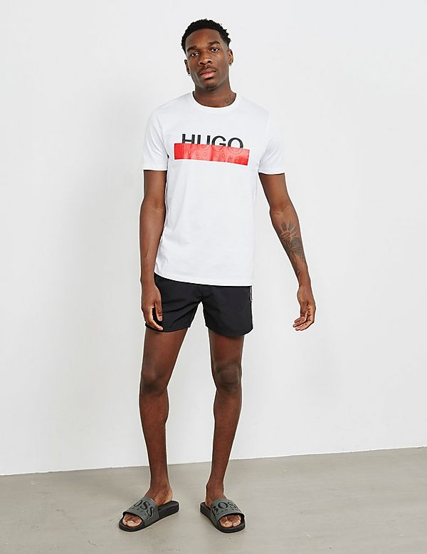 HUGO Anguila Tape Swim Shorts