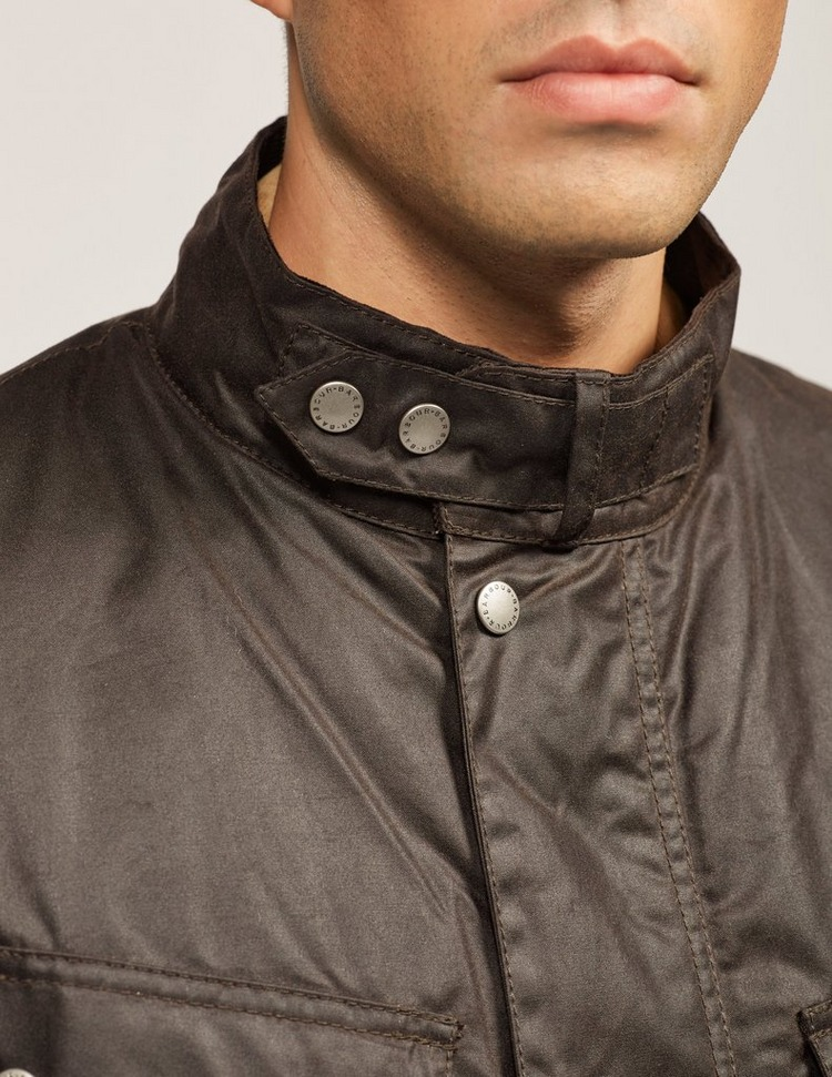 Barbour International Duke Wax Padded Jacket