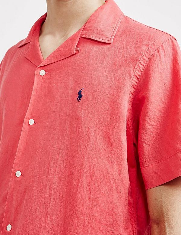 Polo Ralph Lauren Cuban Linen Short Sleeve Shirt