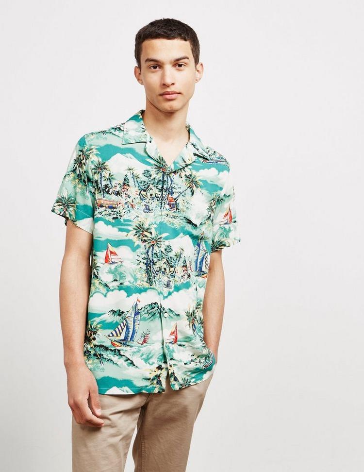 Polo Ralph Lauren Tropical Cuban Short Sleeve Shirt