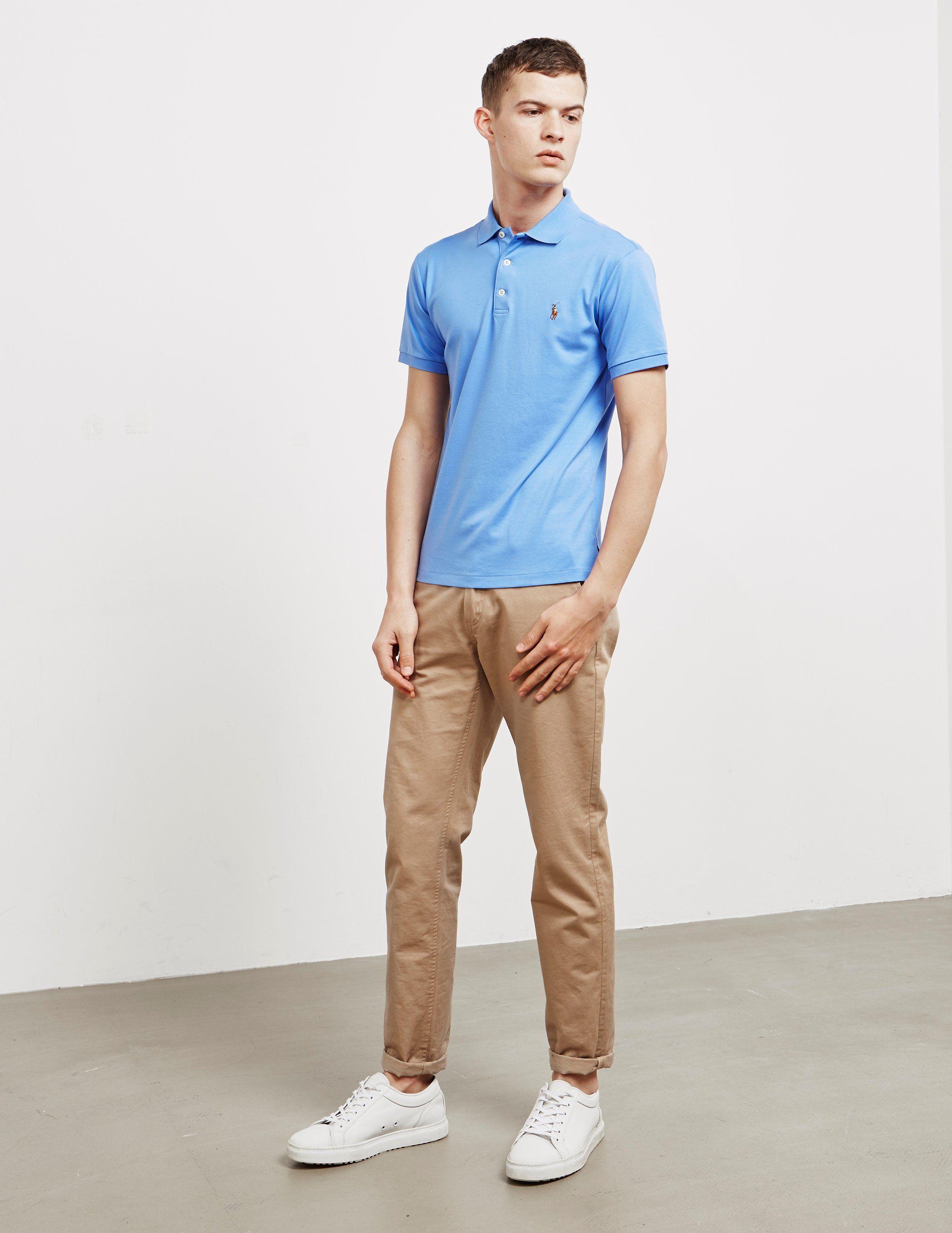 Polo Ralph Lauren Pima Short Sleeve Polo Shirt