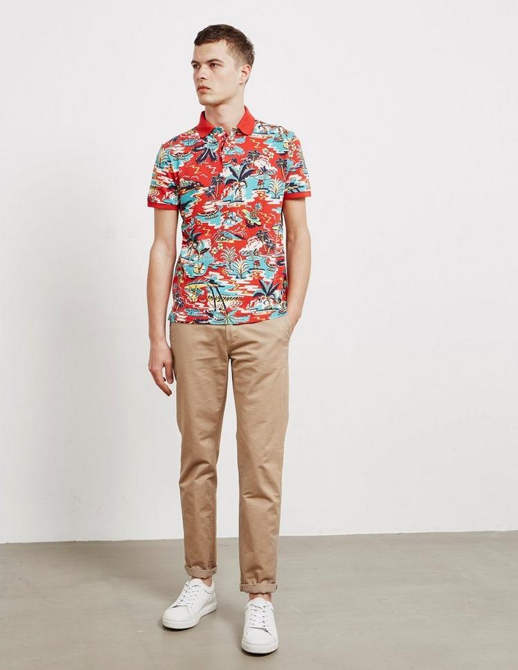 Polo Ralph Lauren Vintage Palm Tree Short Sleeve Polo Shirt