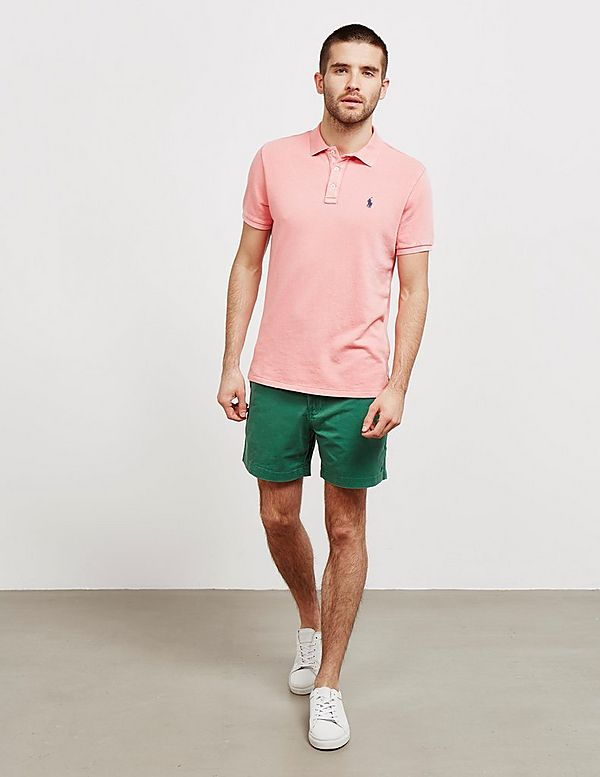 Ralph Terry Polo Sleeve ShirtTessuti Short Lauren PTwOkuXZi