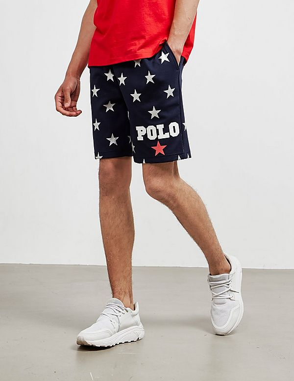 Fleece Lauren ShortsTessuti Ralph Star Polo Nn08Ovmwy
