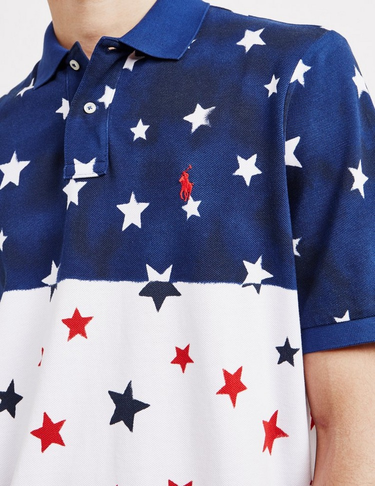 Polo Ralph Lauren Block Star Short Sleeve Polo Shirt