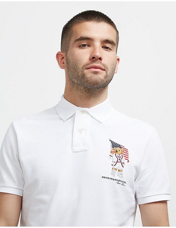 Polo Ralph Lauren Teddy Flag Short Sleeve Polo Shirt