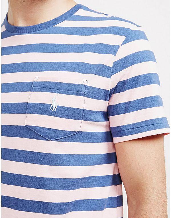 Polo Ralph Lauren Stripe Pocket Short Sleeve T-Shirt