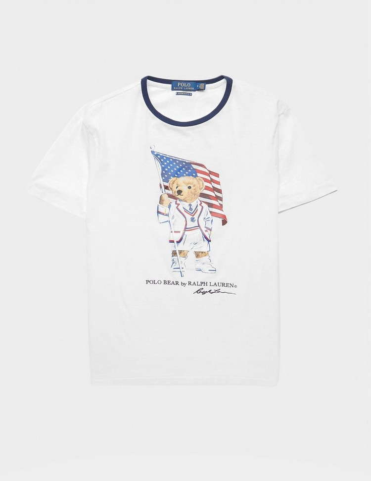 Polo Ralph Lauren Teddy Flag Short Sleeve T-Shirt