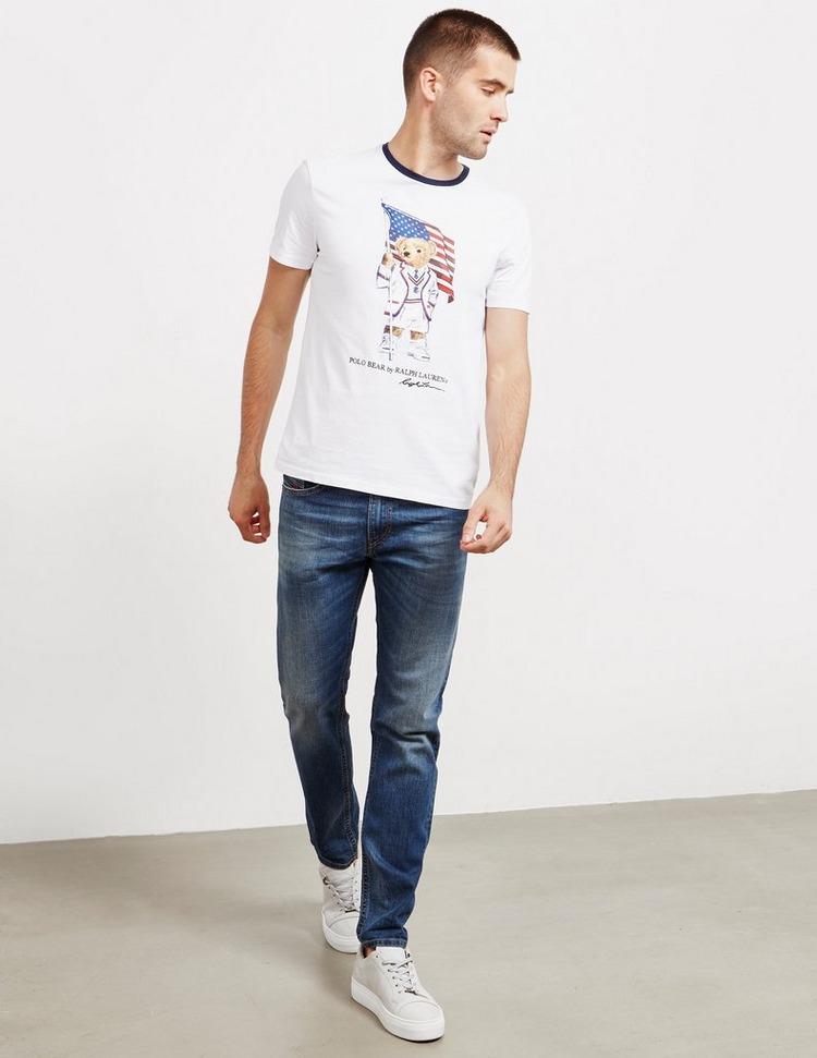 Polo Ralph Lauren Teddy Flag Short Sleeve T-Shirt