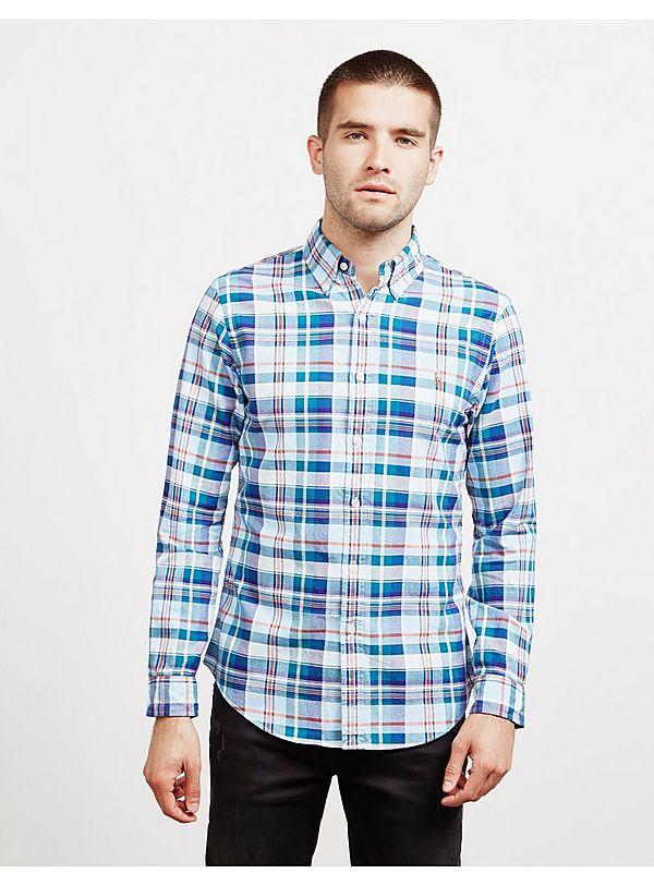 Polo Ralph Lauren Madras Long Sleeve Shirt