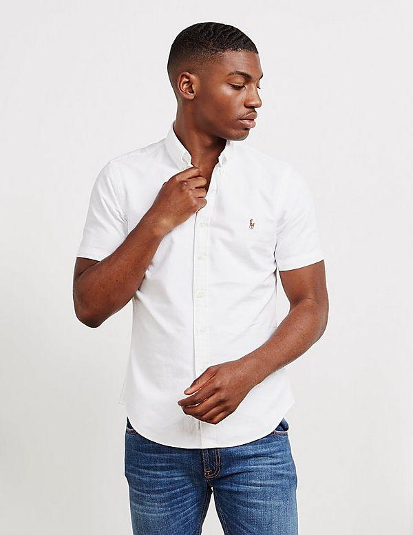 Polo Ralph Lauren Slim Fit Short Sleeve Oxford Shirt
